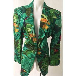 Jackets & Blazers - Green Blazer Size 8